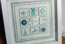 Stampin' Up! Framed artwork