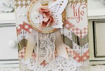 Cards And Scrapbook Ideas / by Crystal Kemmer