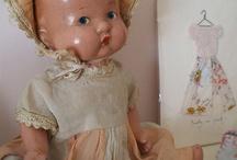 Vintage Dolls / by Dixie Cochran