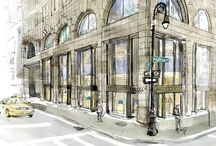 Smythson NYC / The extraordinary tale of our flagship Madison Avenue and Westfield World Trade Center boutiques.