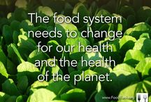 food facts & quotes  / links and pictures about the current state of food in the world.  / by learn.share.change