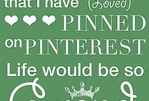 My Pinterest Bucket List