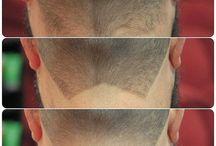 Hair cutting etc