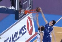 Cedi Osman's block on Sergio Rodriguez, coming from behind and flying high.