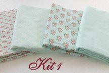 Kit de tecidos / Tecidos,Patchwork.Kit de tecidos