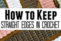 Crochet straight edges