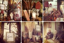 Fall decor / by Kacie Whigham