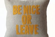 be nice or live pillow