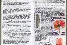 journals / by Jean Hanson