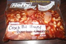 freezer cooking / honey chicken for oven or crockpot