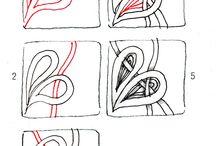 Tangle Patterns / by Mari Kuehn