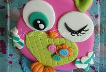 ouwl cake