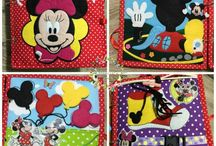 mickey mouse quiet book