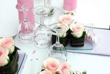 Hochzeit Tischdekorartion