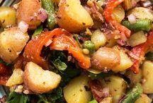 Potato Salad / Mediterranean potato salad