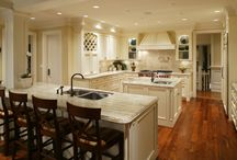 lovely kitchens / by Wendy Howard