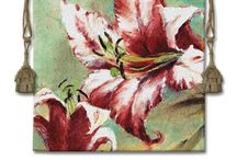 Floral Tapestries / See some floral tapestries and still life tapestries of fruit in these wall hangings here. Flower tapestries provide color and elegance to any room.