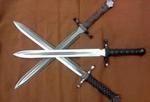 Swords and other weapons