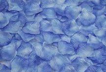 1000 petales de soie bleue,petales de fleurs,decoration table mariage fetes ceremonie