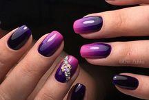 Uñas / Permanente Desafios / semipermanente permanente nail art gelish uñas
