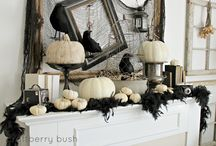 black & white halloween fete