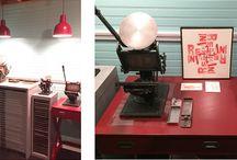 Lettering World Letterpress / Studio and artwork