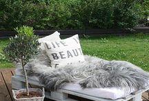 отдых в саду