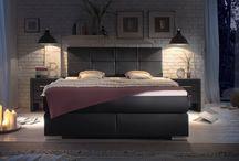 Łóżka kontynentalne / Piękne łóżka kontynentalne z wysokim wezgłowiem do eleganckich sypialni. Łóżka Boxspring z wygodnym materacem. http://www.aaaameble.pl/lozka-boxspring #łóżka #nowoczesnełóżka #wysokiełóżka #łóżkakontynentalne #łóżko #łóżkodosypialni #łóżkozwezgłowiem #łóżkozzagłówkiem #modnełóżko
