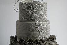 Cakes - grey/silver
