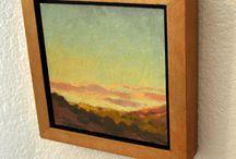 DIY art frames