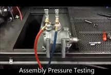 Automobile A/C Compressors / Steps we put every compressor through in the re-manufacturing process.