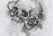 SKULLS Don't sKare Me! / I love Skulls! I like to think we all look the same underneath our skin! We are beautiful!  / by LaDonna Parker-Clark