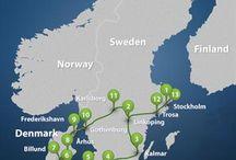 Scandinavië  / Zomer ideeën