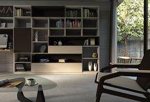 Nábytok na mieru do obývačky / Living room custom furniture ideas / Nábytok vyrobený na mieru do obývačiek. Odľahčené TV zostavy, knižnice, praktické úložné priestory aj nové nápady na dizajn