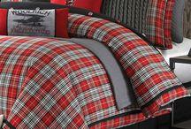 Tartan / plaid / tweed home textile