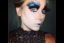 Snow Queen moodboard / Make up Snow Queen