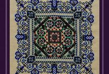 Floral & Ornamental Cross Stitch / Collection of Floral and Ornamental Counted Cross Stitch Designs!  For more info on these and other designs, please visit www.tgdcharts.com