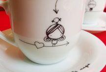Mønster på kopp