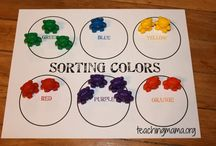 Sorting by colours