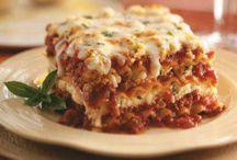 Comidas italianas y salsas