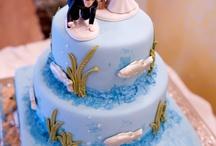 Fishing Themed Wedding Cake 1