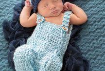 Crocheted boy