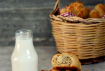 Croissants, Muffins, plum cakes  & fluffy deliciousness