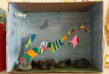 Akvaario askartelu