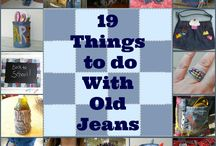 Things To Do With DENIM!