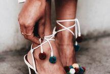 Pom pom heels
