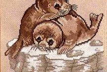 x stitch animals