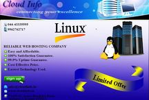 web hosting / CloudInfo is pride to delegate affordable web hosting company in Chennai.We have more than 9 years of experiences in this field.Our company is best in providing powerful and professional  web hosting services. Hurry up contact us today.  Our features are: 1.Cost is reliable  2.well hands on experience person to give you free 24/7 support. 3.Easy and fast access.  4.99.9% up time guaranteed. Email Id:contact.cloudinfo@gmail.com Mobile no:+91-9962762717.