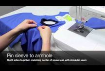 youtube sewing knits