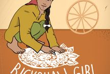 Rickshaw Girl / Based on the book by Mitali Perkins / Adapted for the stage by Aditi Kapil / Directed by Vidhu Singh / Playing in San Ramon, San Francisco and Berkeley March 12-May 29, 2016